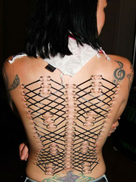 Most Weird Body Modifications People Press Likes To