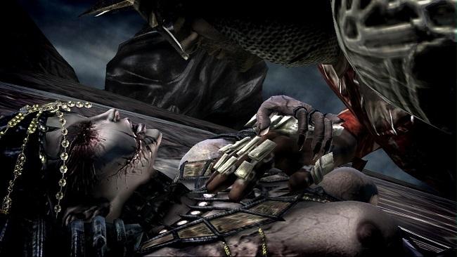 Dantes inferno cleopatara boob scene