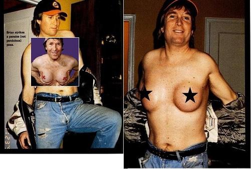 Poker player breast implants