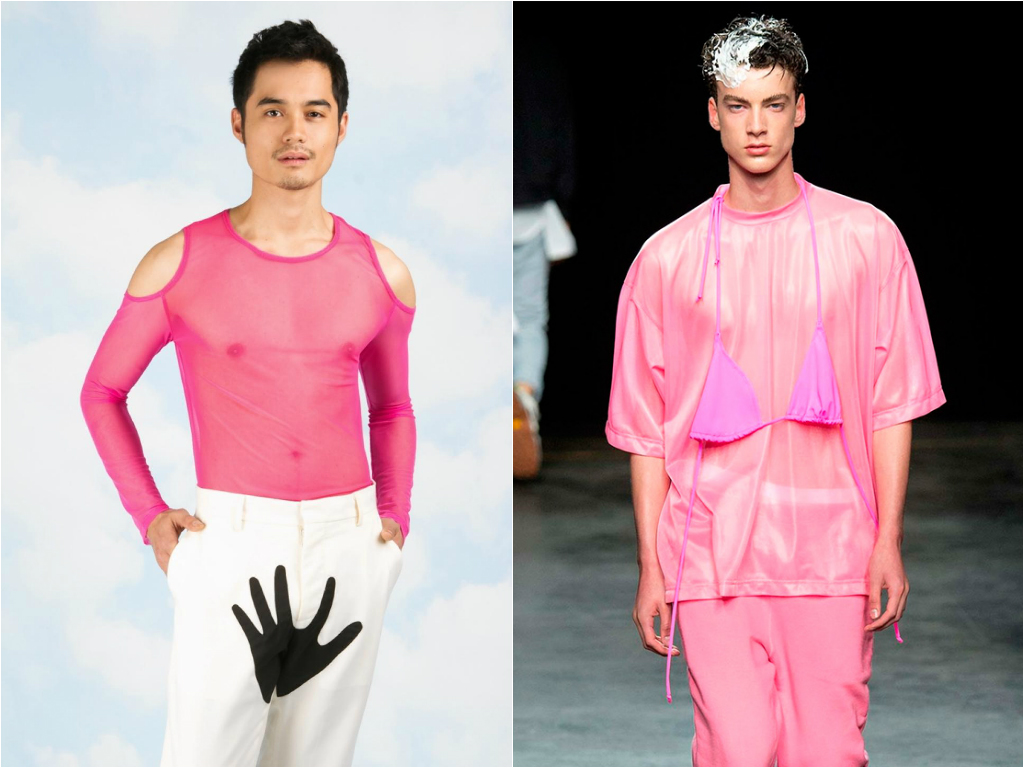 11 pink makes anyone look glamorous