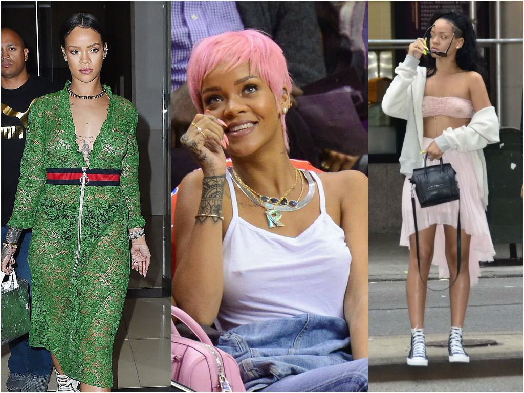Braless Celebrities_rihanna 2