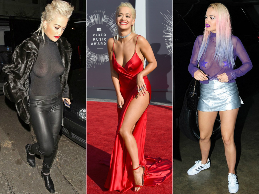 Braless Celebrities_rita ora 1