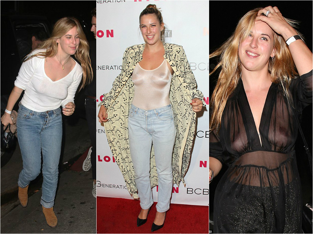 Braless Celebrities_scout willis