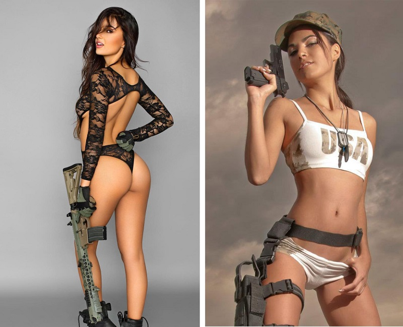 The Most Beautiful Female Soldiers You'll Want To Make Love, Not War With_2