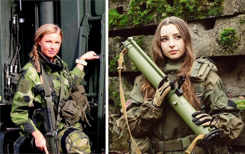 The Most Beautiful Female Soldiers You'll Want To Make Love, Not War With_4