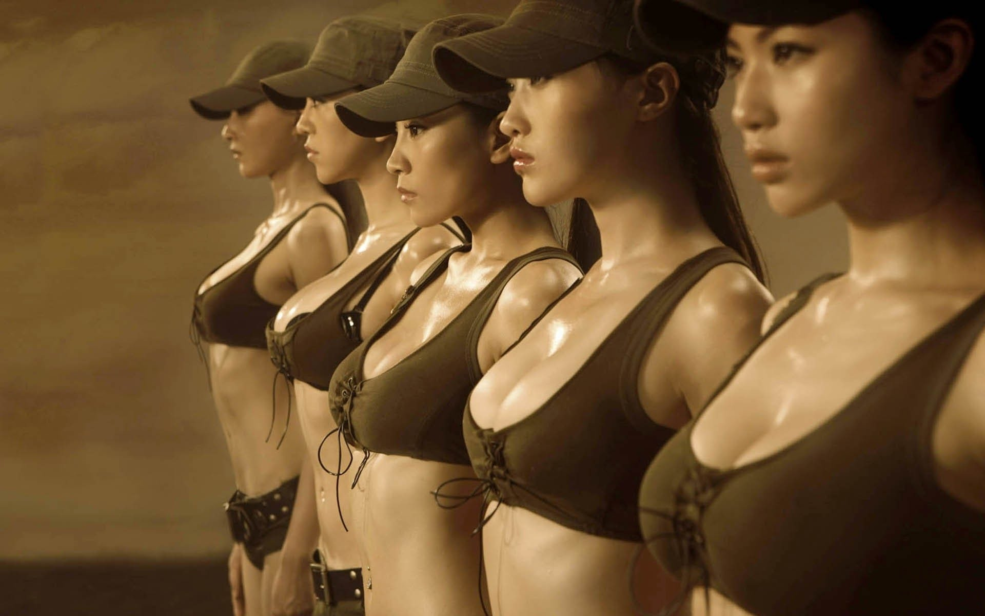 The Most Beautiful Female Soldiers You'll Want To Make Love, Not War With_front