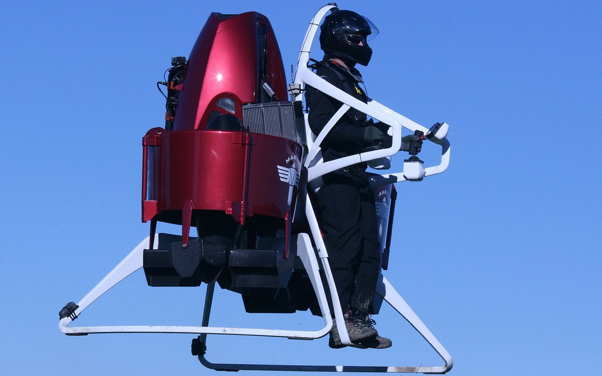 The 5 Most Mind-Blowing Jetpacks_1. Martin Jetpack