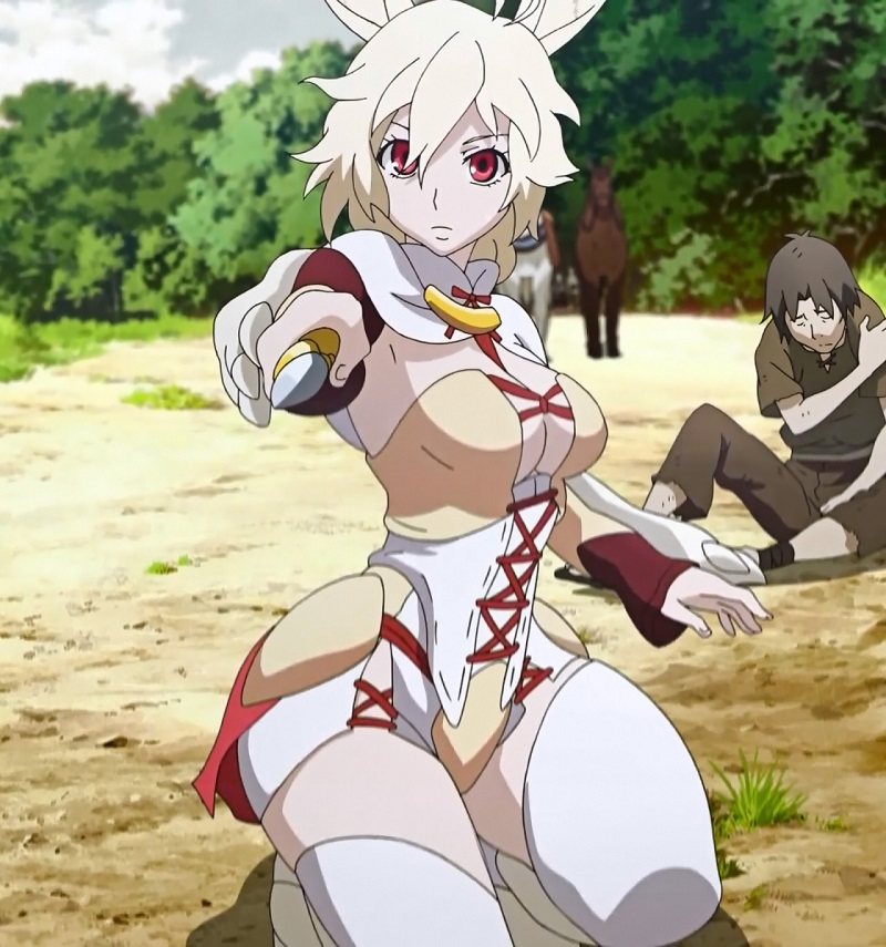 The 7 Weirdest Sexy Outfits In Anime_5. Nashetania - Rokka no Yuusha