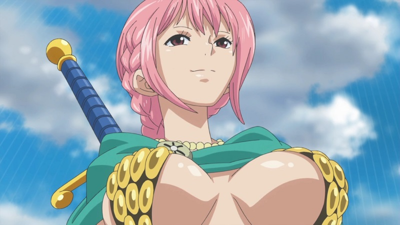 The 7 Weirdest Sexy Outfits In Anime_6. Rebecca - One Piece
