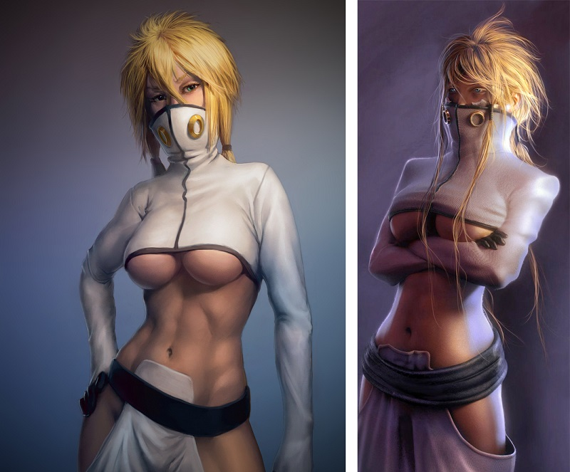 The 7 Weirdest Sexy Outfits In Anime_7. Tier - Bleach
