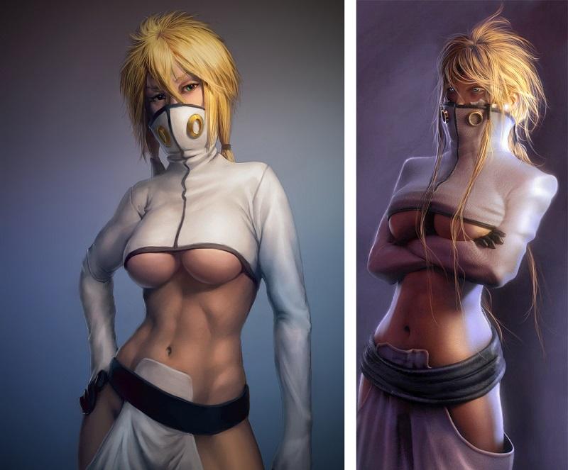 The 7 Weirdest Sexy Outfits In Anime_7. Tier - Bleach