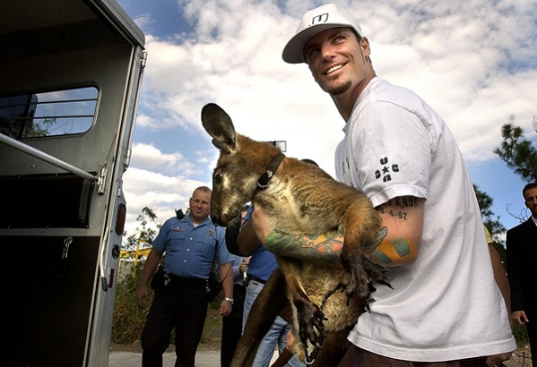 Celebrities And Their Unusual Pets_Vanilla Ice