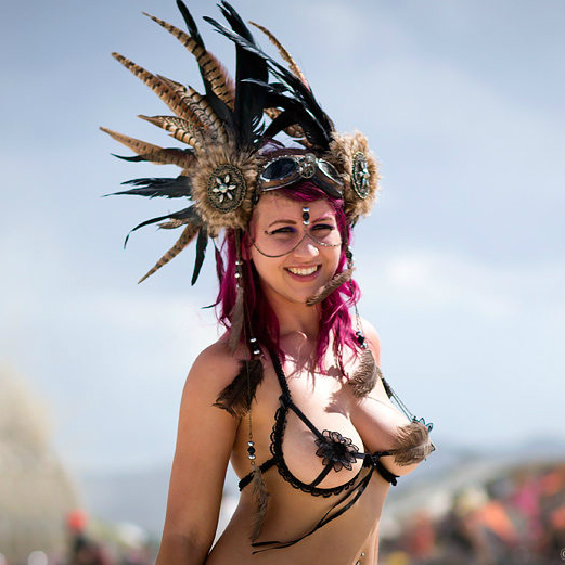 The Hottest Burning Man Babes_19