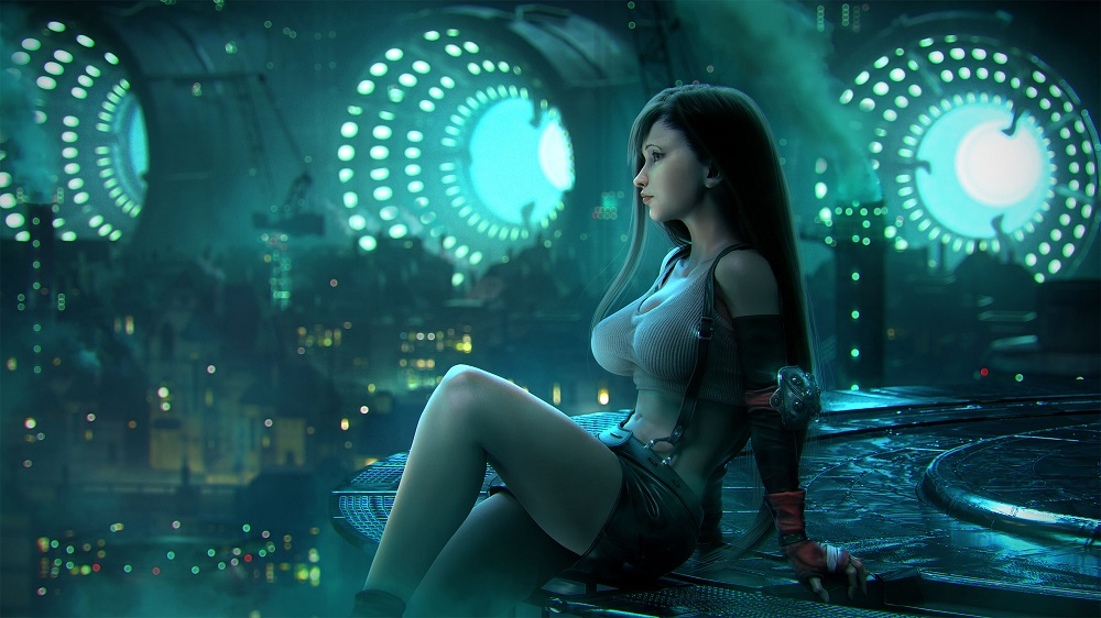 The 7 Hottest Female Video Game Fighters_Tifa Lockhart