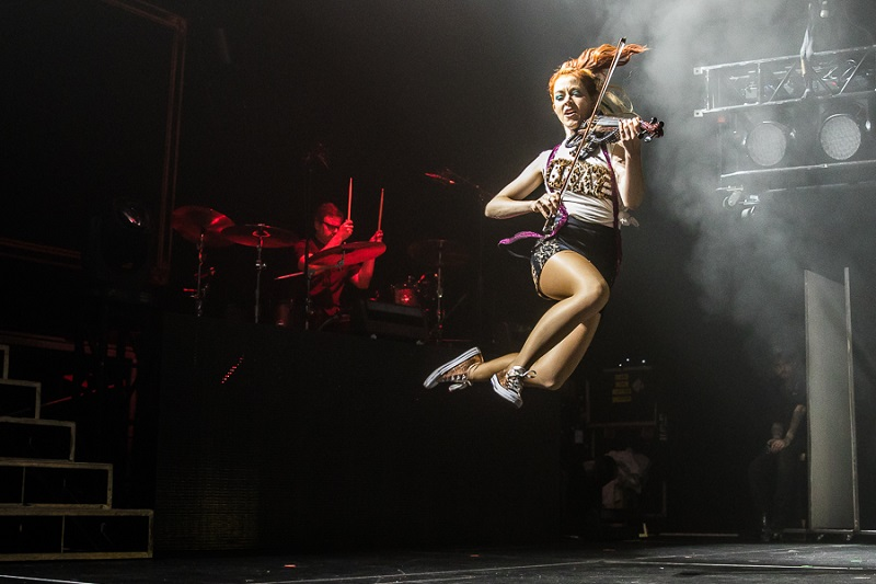 Lindsey Stirling performs at Hammerstein Ballroom NYC Oct 21 2016
