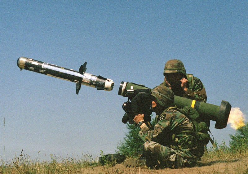 deadliest weapon_javelin missile