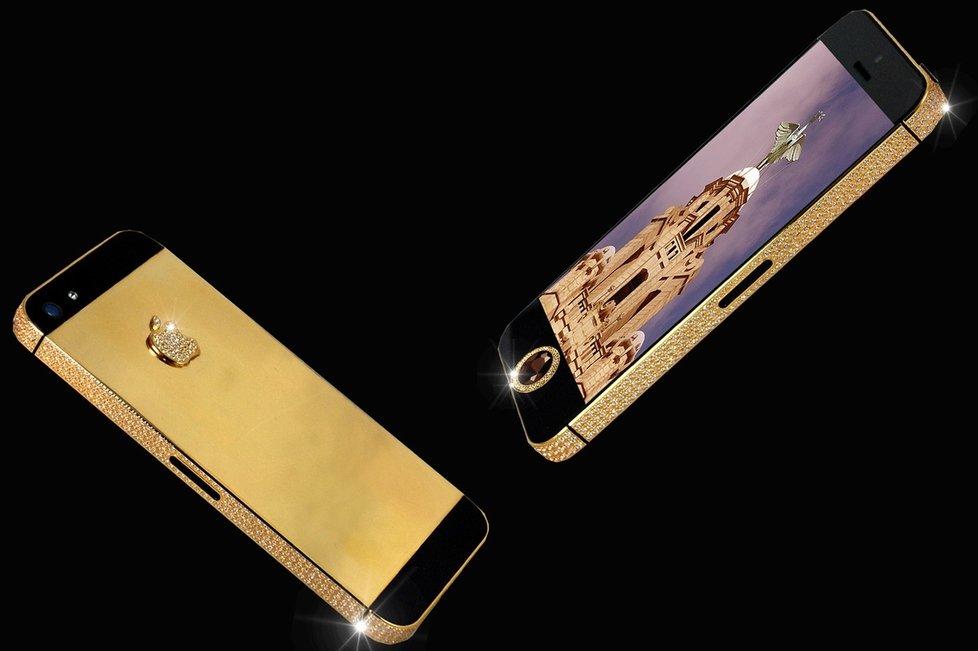 most expensive smartphones_Black Diamond iPhone 5 – 15.3 Million