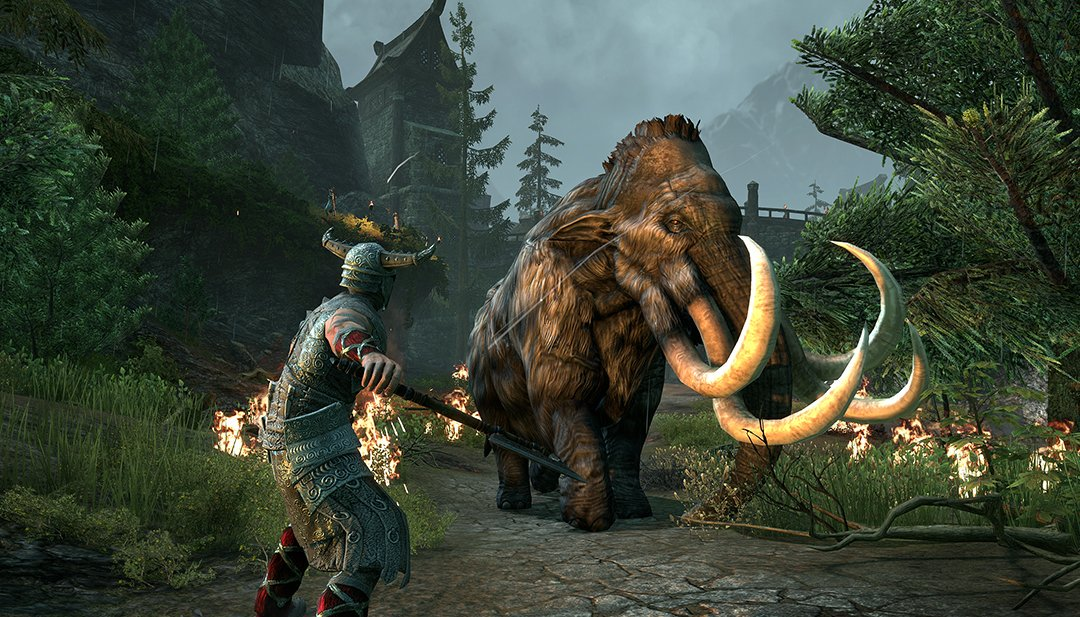 new mmorpgs_elder scrolls online horns of the reach