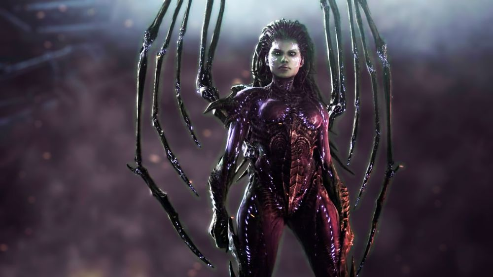 dangerous video game girls_Sarah Kerrigan
