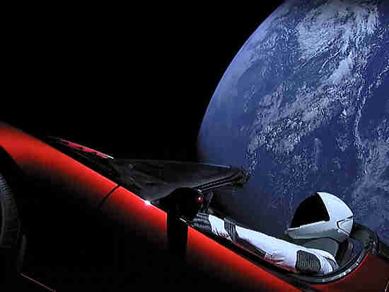 tesla in space_5