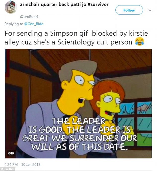 bans from celebs_kirstie alley