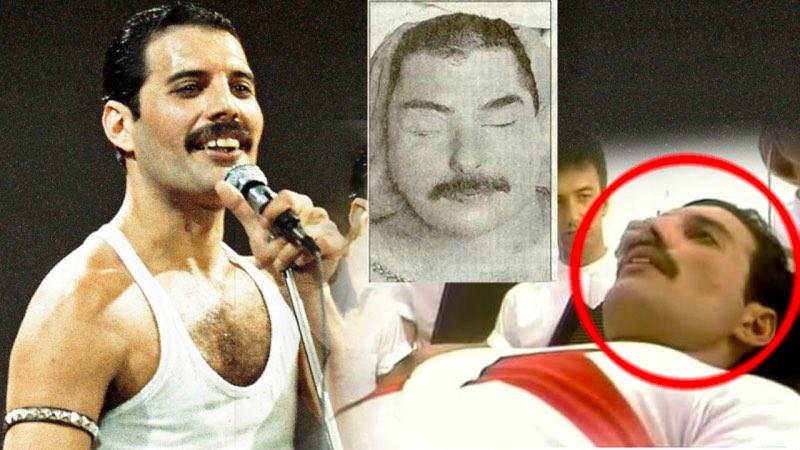 The Last Photos of Freddie Mercury Alive | FeelNumb.com |Last Picture Of Freddie Mercury Alive