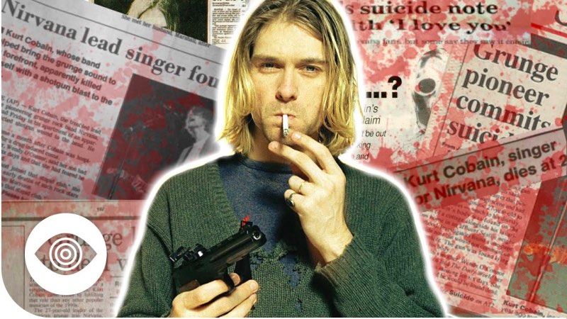 faked deaths_kurt cobain
