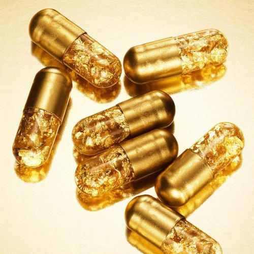 made of pure gold_pills