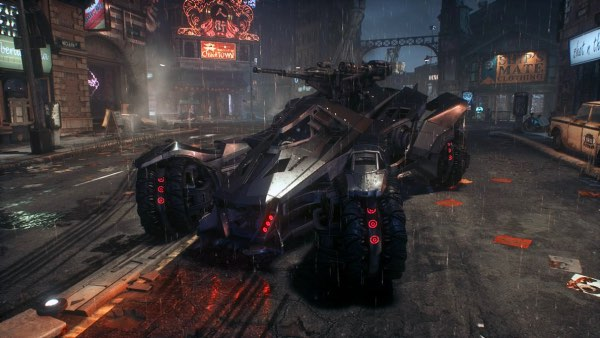 gaming vehicles_Batmobile - Arkham Knight