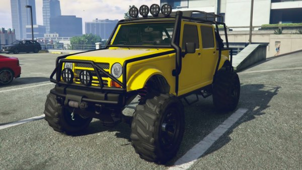 gaming vehicles_Grand Theft Auto V - Merryweather Jeep